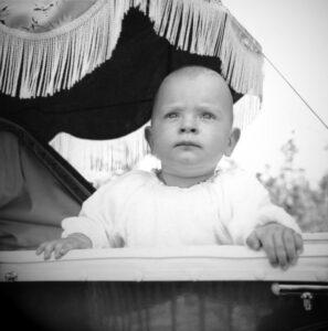 About me Biography: John Thornton as a baby